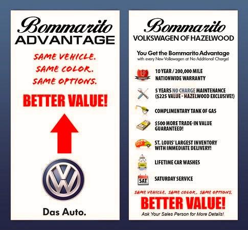 Bommarito Volkswagen of Hazelwood, Hazelwood, MO, 63042