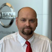 Brandon Benderman at Newton Nissan