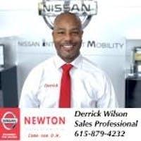 Derrick Wilson at Newton Nissan
