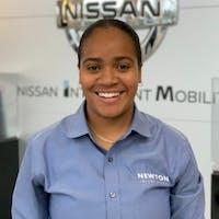 Lateesha Whitely at Newton Nissan