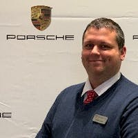 George  Wright at Tom Wood Porsche