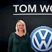 Casey Hope at Tom Wood Volkswagen