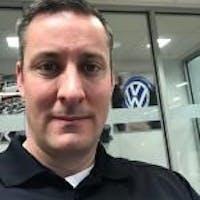 George Walker at Tom Wood Volkswagen