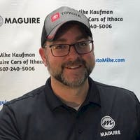 Mike Kaufman at Maguire Automotive