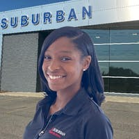 Shane'ce Johnson at Suburban Ford of Sterling Heights