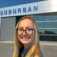 Cheyenne Wroblewski at Suburban Ford of Sterling Heights
