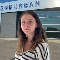 Kaitlynne Ferguson at Suburban Ford of Sterling Heights
