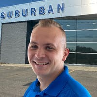 Jayson Rhodes at Suburban Ford of Sterling Heights