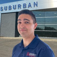 Caleb Herrera at Suburban Ford of Sterling Heights