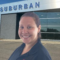 Caitlyn King at Suburban Ford of Sterling Heights
