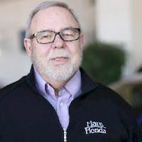 John Drake at Hare Honda