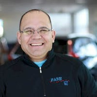 Milton Echegaray at Hare Honda