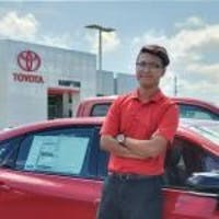 Minh Pham at Hampton Toyota