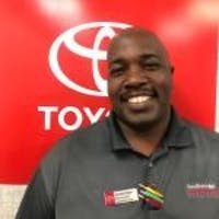 Derrick Wright at Southern 441 Toyota