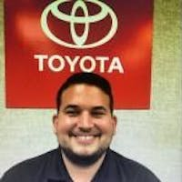 Jorge Blanco at Southern 441 Toyota
