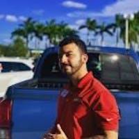 Alvaro Delgado at Southern 441 Toyota