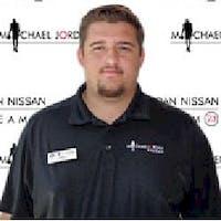 Keith  Blake at Michael Jordan Nissan