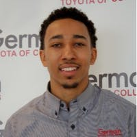 Kaleb Murray at Germain Toyota of Columbus