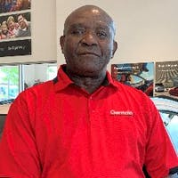 John Okoye at Germain Toyota of Columbus