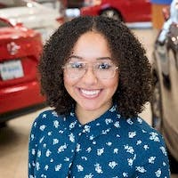 Ashley  Gimmaka at Honda of Bellingham