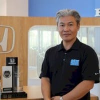 Hung Dinh at Delray Honda