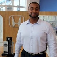 Brandon  Garland at Delray Honda