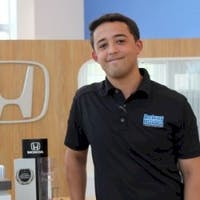 Dustin Raymond at Delray Honda