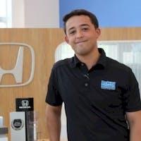 Dustin Raymond at Delray Honda