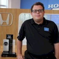 Zach Feller at Delray Honda