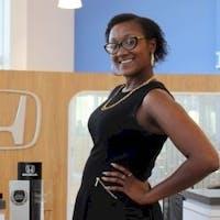 Danielle Fils at Delray Honda