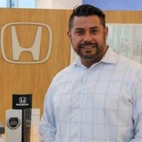 Julio  Sanchez at Delray Honda
