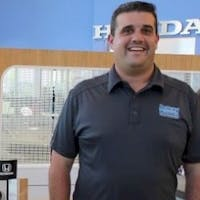Jason  Salomon at Delray Honda
