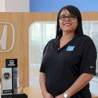 Lucy Conrado at Delray Honda