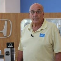 Norman Meisenberg at Delray Honda
