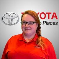 Norah Dodson at Lou Fusz Toyota