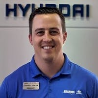 Cameron Kawcak at Brandon Hyundai