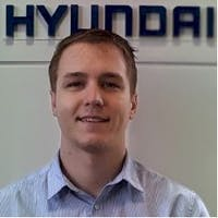 Mark  Lasecki at Brandon Hyundai