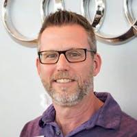 Eric Danford at Audi Cary