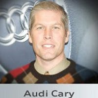 Gene Larsen at Audi Cary