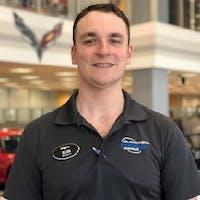 Sean  McCann at Stingray Chevrolet