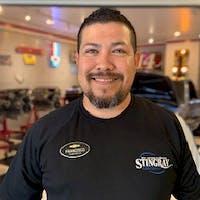 Francisco Chavez at Stingray Chevrolet