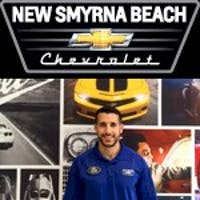 Damian  Hall at New Smyrna Chevrolet