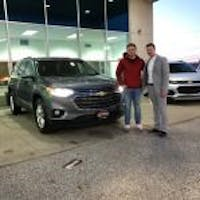 Justin Trent at Serpentini Chevrolet of Willoughby Hills