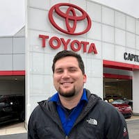 Robby Hedrick at Capital Toyota, Inc.