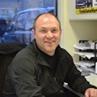 Eddie Schwarztrauber at Tunkhannock Auto Mart
