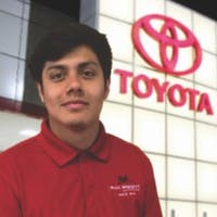 Aaron Fregoso at Phil Wright Toyota