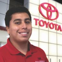 Adair Juan-Bautista at Phil Wright Toyota
