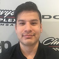 Paulo Pinto at Clint Bowyer Autoplex