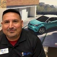 Sammy Yanes at Mac Haik Toyota