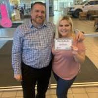 Savannah  Wolters  at Grand Prairie Ford